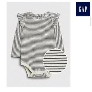 Black and White Striped Onesie/ Bodysuit GAP NWT